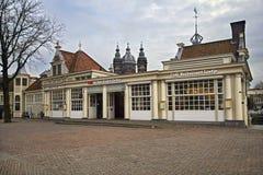 阿姆斯特丹访客中心 免版税库存照片