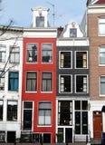 阿姆斯特丹运河安置老 图库摄影