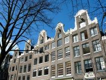 阿姆斯特丹运河安置老 免版税库存图片