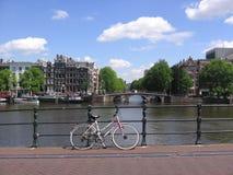 阿姆斯特丹运输 免版税库存照片