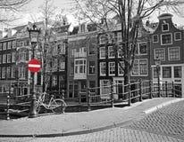 阿姆斯特丹都市风景 免版税库存图片