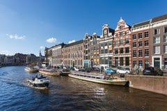 阿姆斯特丹都市风景 图库摄影