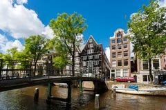 阿姆斯特丹都市风景 库存图片