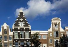 阿姆斯特丹门面 免版税库存照片