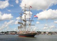 阿姆斯特丹风帆 免版税库存图片