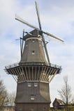 阿姆斯特丹风车 免版税库存图片