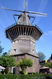 仅阿姆斯特丹风车 免版税图库摄影
