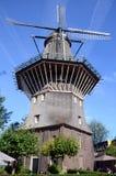 仅阿姆斯特丹风车 库存图片