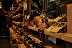 阿姆斯特丹,北荷兰省,乳酪 免版税库存照片