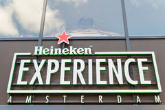 阿姆斯特丹,荷兰, 2016年5月3日:海涅肯经验日志 免版税库存图片