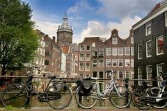 阿姆斯特丹,荷兰- 2015年8月19日:在圣徒Nich的看法 图库摄影