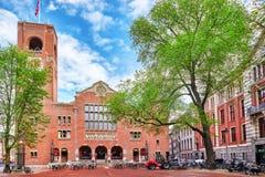 阿姆斯特丹,荷兰- 2015年9月15日:美丽的景色  免版税图库摄影