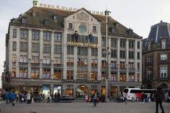 阿姆斯特丹,荷兰- 5月13 库存照片