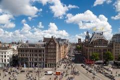 阿姆斯特丹水坝正方形 库存图片