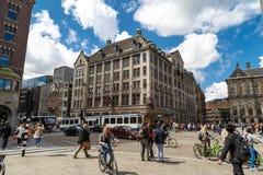 阿姆斯特丹水坝正方形 库存照片