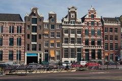 阿姆斯特丹建筑学 图库摄影