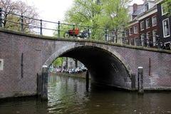 阿姆斯特丹-荷兰资本和大城市 免版税库存照片