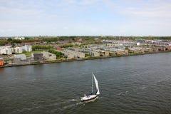 阿姆斯特丹-荷兰资本和大城市 图库摄影