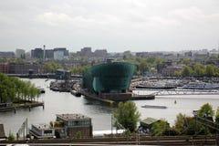 阿姆斯特丹-荷兰资本和大城市 免版税库存图片