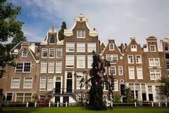 阿姆斯特丹begijnhof 免版税图库摄影