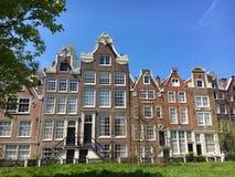 阿姆斯特丹begijnhof 库存图片