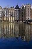 阿姆斯特丹damrak 免版税库存照片