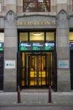 阿姆斯特丹Euronext 免版税库存图片