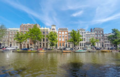 阿姆斯特丹keizersgracht 库存照片