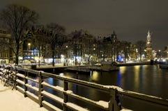 阿姆斯特丹munt toren 库存照片