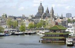 阿姆斯特丹nicolaaskerk sint 库存图片