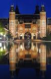 阿姆斯特丹reichsmuseum 免版税库存照片