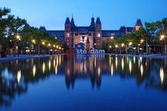 阿姆斯特丹rijksmuseum 免版税库存照片