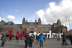 阿姆斯特丹rijksmuseum 库存照片