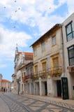 阿威罗,葡萄牙:都市建筑学 免版税库存图片
