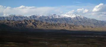 阿富汗东部orgun 免版税库存照片