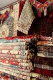 阿富汗地毯 免版税库存照片