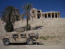 阿富汗城堡 免版税库存图片