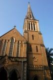 阿富汗教会外部mumbai 免版税库存照片