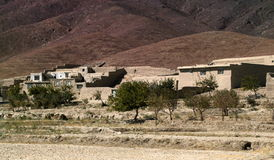 阿富汗横向 免版税库存照片