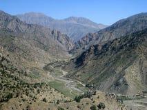 阿富汗高偏僻的通过 免版税库存图片