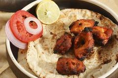 阿富汗鸡Kebab 免版税库存图片