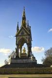 阿尔伯特・伦敦纪念品 库存照片