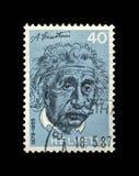 阿尔伯特・爱因斯坦,著名科学家,物理学家,诺贝尔得奖者,瑞士,大约1972年, 库存图片