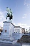 阿尔伯特国王kunstberg纪念碑 免版税库存图片