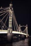 阿尔伯特桥梁 图库摄影