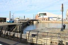 阿尔伯特码头利物浦 免版税库存图片