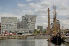 阿尔伯特码头利物浦 免版税图库摄影