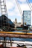 阿尔伯特船坞,利物浦 免版税图库摄影