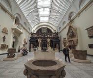 阿尔伯特・伦敦博物馆维多利亚 库存照片