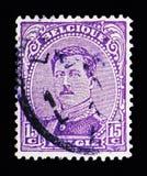 阿尔伯特I -类型II, serie国王,大约1919年 库存图片